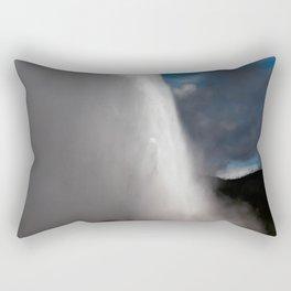 Old Faithful being Faithful Rectangular Pillow
