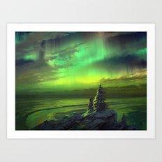 Nothern Light Art Print