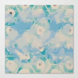 Blue skies, sweet dreams Canvas Print