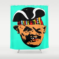 "goonies Shower Curtains featuring ""Mourning My Youth"" Series 