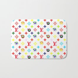 Takashi Murakami LV Collaboration Vuitton Bath Mat