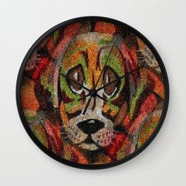 Puppy Eyes Wall Clock