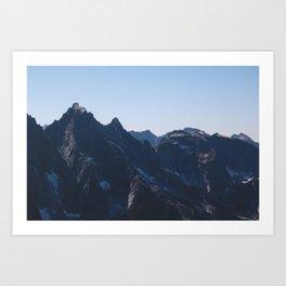 Mountain. Art Print