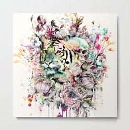 Interpretation of a dream - Tiger Metal Print