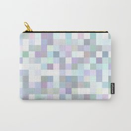 Pale square mosaic Carry-All Pouch