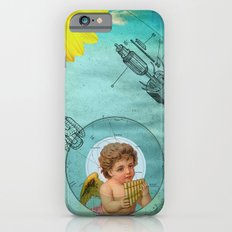 Angel playing music in space iPhone 6s Slim Case