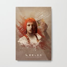 Leeloo Dallas, Multipass! Metal Print
