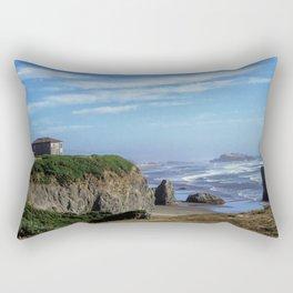 Oregon Shore Rectangular Pillow
