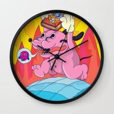 pichicho to the world! Wall Clock