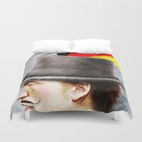 german Duvet Covers featuring German by Francesca Cosanti