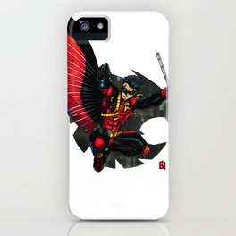Red Robin : Robin Legacy iPhone Case