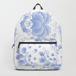 Light blue roses Backpack