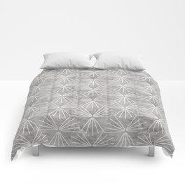SUN TILE CEMENT LIGHT Comforters