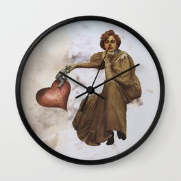 Untitled (2013) Digital Collage Wall Clock
