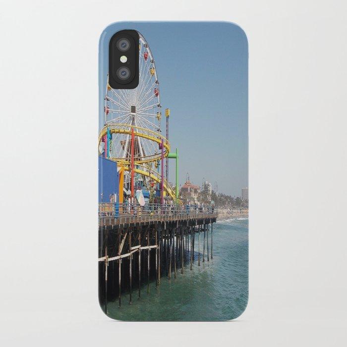 santa monica iPhone Case