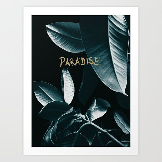 Ficus Elastica PARADISE #1 #decor #art #society6 by anitabellajantz