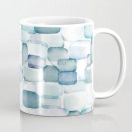 Sea Glass Watercolor Coffee Mug