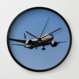 Aero Mexico Boeing 787 Wall Clock