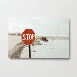 Stop War Metal Print