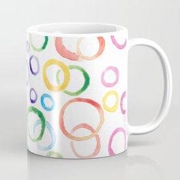 Fun Multicolor Bubbles Coffee Mug