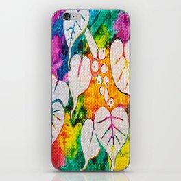 Leaves on the World Tree: Bihari Peepal iPhone Skin