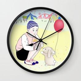Yag et Lapinou Wall Clock