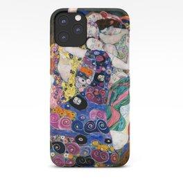 Gustav Klimt Die Jungfrauen The Maiden iPhone Case