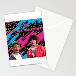 Bill and Ted x Stationery Cards