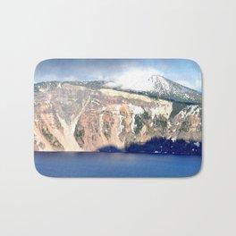 MOUNTAINS AROUND CRATER LAKE - OREGON Bath Mat