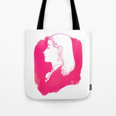 Pink Victorian Tote Bag