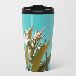 Tropical Floral Travel Mug