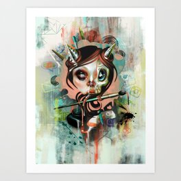Creative Cumunication Art Print