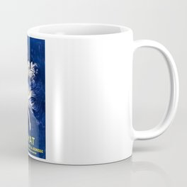 Vintage Royal Blue Royat French Sparkling Aqua Minerale Aperitif Vintage Poster Advertising Coffee Mug