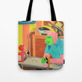 All the Wrong Questions Tote Bag
