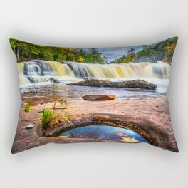 Mandio Falls - Porcupine Mountains Rectangular Pillow