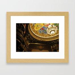 Palais Garnier Framed Art Print