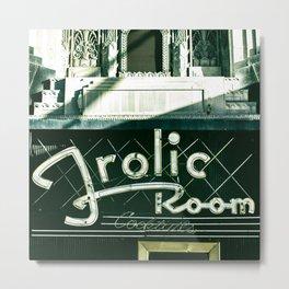 Frolic Room Los Angeles Retro Bar Scene Metal Print