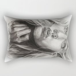 Find The Light     By Davy Wong Rectangular Pillow