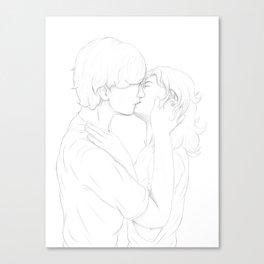 Kiss of Life & True Love Canvas Print