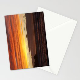 When the sky turns Stationery Cards