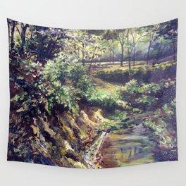 Springtime Creek Wall Tapestry