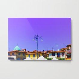 Purple Sky Firenza Metal Print