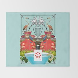 Ten of Cups Throw Blanket