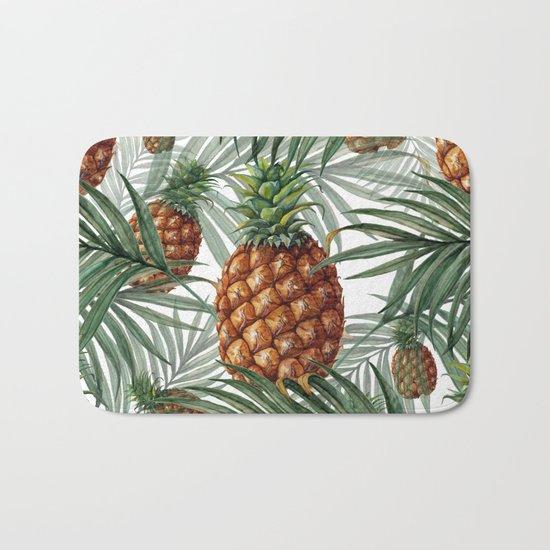 King Pineapple Bath Mat