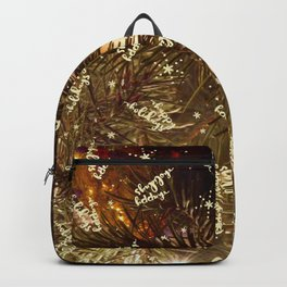 Happy holidays you magical Christmas tree, you! Backpack