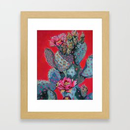 FIRE ONE Framed Art Print