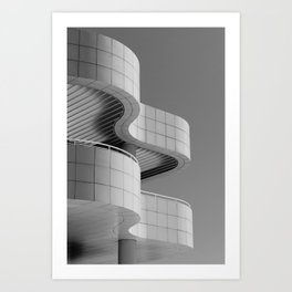 Getty Exterior No.1 Art Print