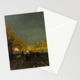 The Rainbow - Willem Roelofs (1875) Stationery Cards
