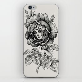 Sad Rose iPhone Skin