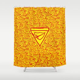 ConquiSwacht Shower Curtain
